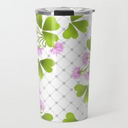 Field clover Travel Mug