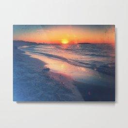 Quartz is the mirror for the sun Metal Print