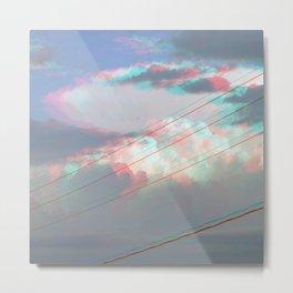 (parameters) Metal Print