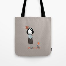 Autumn in my heart Tote Bag