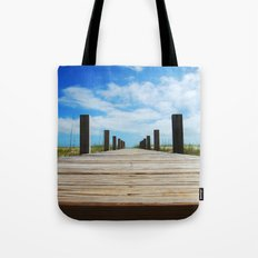 Baldhead island  Tote Bag