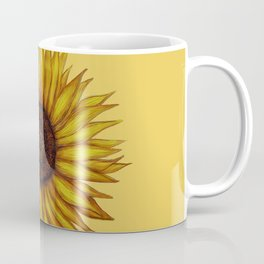 Sunflower by Lars Furtwaengler | Ink Pen | 2011 Coffee Mug