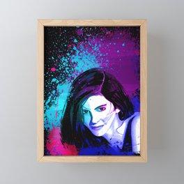 Splash of Color Framed Mini Art Print