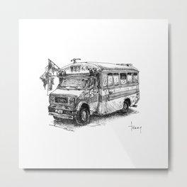 Calafia 5 y 10 Metal Print
