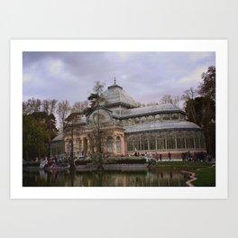 Palacio de Cristal Art Print