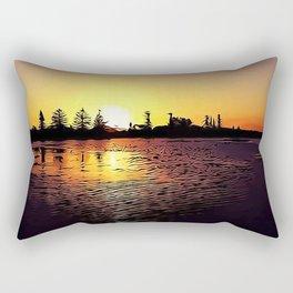 Cartoon Sunset Rectangular Pillow