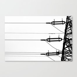 Limited offer: Electrical veins Canvas Print