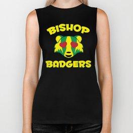 Bishop Badgers Love Biker Tank