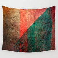 mucha Wall Tapestries featuring A Idade da Terra (The Age of the Earth) by Fernando Vieira