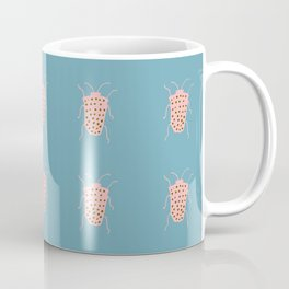 Arthropod blue Coffee Mug