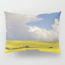 Yellow Canola fields - Landscape Photography #Society6 Pillow Sham