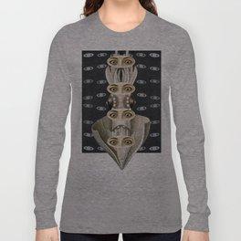 Astonished on Saturn Long Sleeve T-shirt