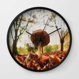 As low as the leaves, as tall as the trees Wall Clock