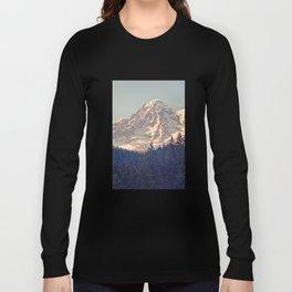 Mount Rainier Retro Long Sleeve T-shirt