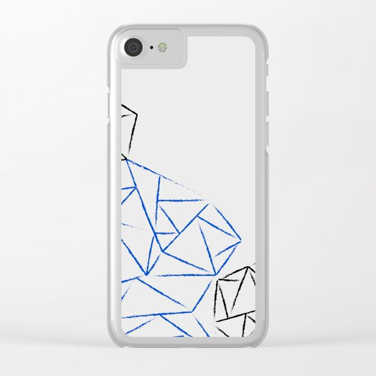 Astoria Grey Clear iPhone Case