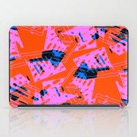orange pattern iPad Cases featuring Orange Pattern by Sarah Bagshaw
