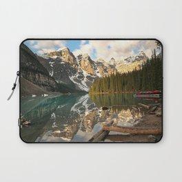 Calm Moraine Lake Laptop Sleeve