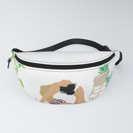 Keep Growing - Yoga Girl Power Fanny Pack
