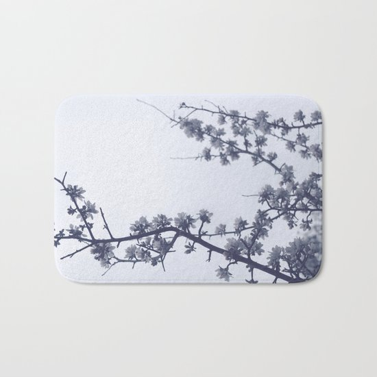 Apple blossoms Bath Mat