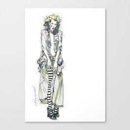 Harlot Canvas Print