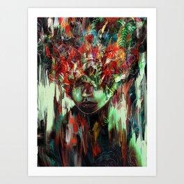 Chaotic Mind Art Print