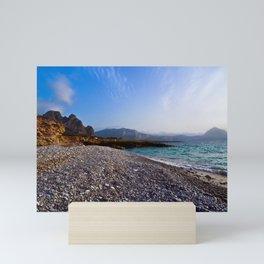 Macari-Beach Sound Mini Art Print