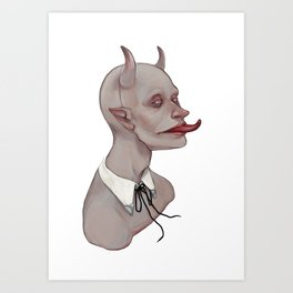 Bootlace Art Print