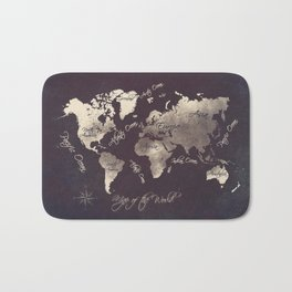 world map 18 Bath Mat