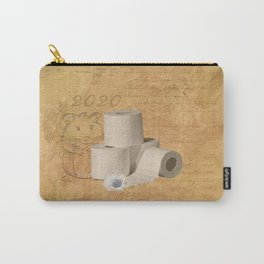 Toilet paper Hamster Carry-All Pouch