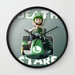 Death Stare Wall Clock