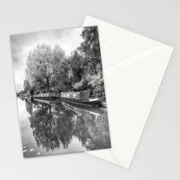Narrow Boats Grand Union Canal Stationery Cards