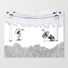 Little Love Story Canvas Print