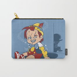 I wanna be a real boy Carry-All Pouch