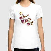 rose gold T-shirts featuring Rose Gold by Stevyn Llewellyn