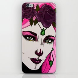 Roses are purple iPhone Skin