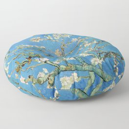Vintage Vincent Van Gogh Almond Blossoms Floor Pillow