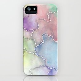 Soft Cracks  iPhone Case