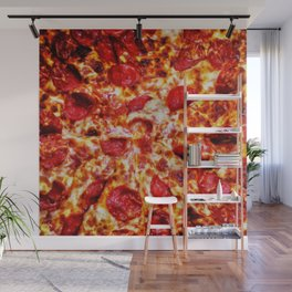 Pizza Painting Wall Mural