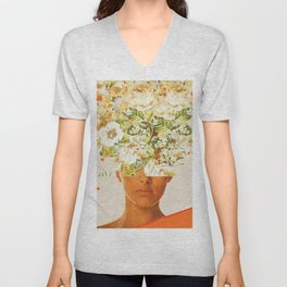 SuperFlowerHead Unisex V-Neck