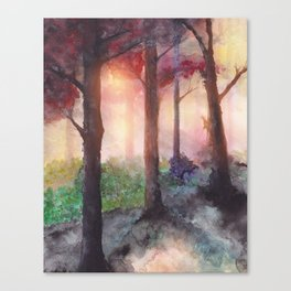 Into The Forest VII Canvas Print