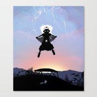 Storm Kid Canvas Print