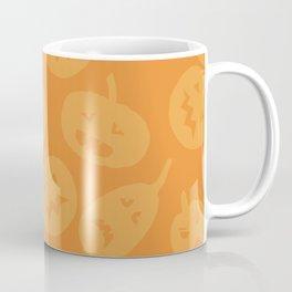 Orange Jack-O-Lanterns Coffee Mug