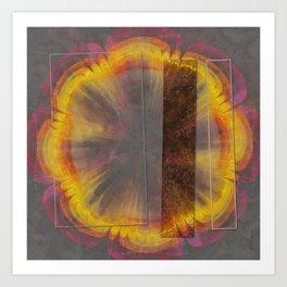 Sapful Woof Flower  ID:16165-124231-30851 Art Print
