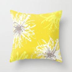 Sunflower Sprinkle Throw Pillow
