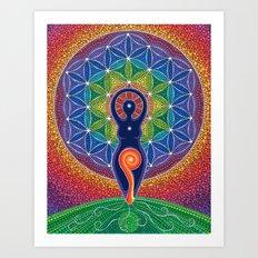Goddess of the World Art Print