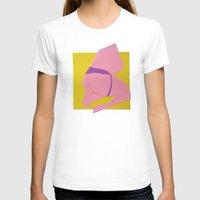 butt T-shirts featuring Pink Butt by vooduude