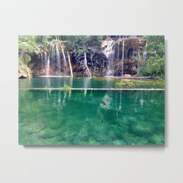Colorado Hanging Lake Metal Print