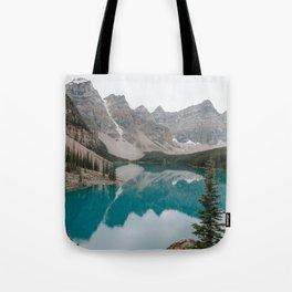 Moraine Lake, Banff National Park Tote Bag