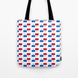 flag of panama 2 -Panama,Panamanian,canal,spanish,San Miguelito,Tocumen,latine,central america,panam Tote Bag