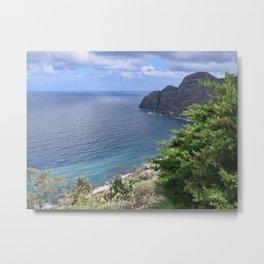 Sea View from La Gomera Metal Print